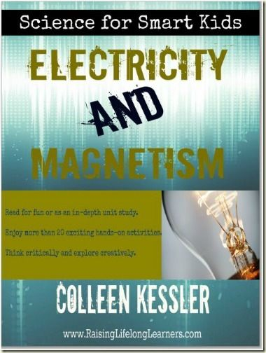 electricity and magnetism giveaway - a great book for experiments, unit study or curriculum supplement