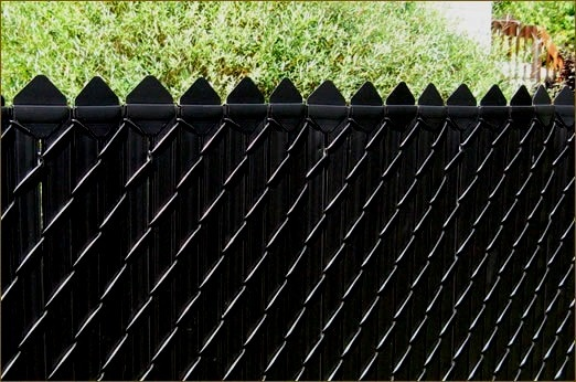 privacy chain link fence - Google Search