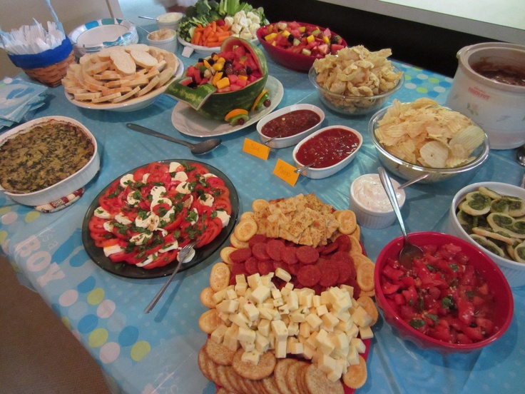 Heavy Hors Doeuvres Great For Baby Shower