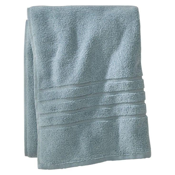 Luxury Bath Sheet Aqua Spill - Fieldcrest