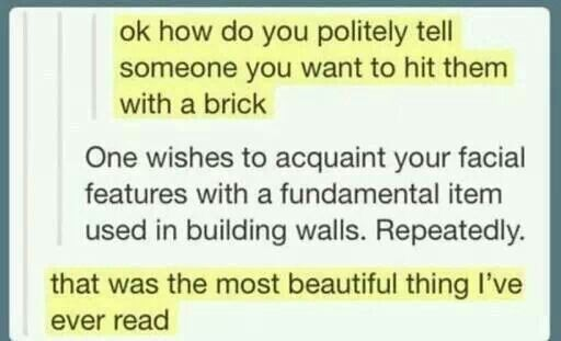 The Most Beautiful Thing To Hear When You Tell Someone You