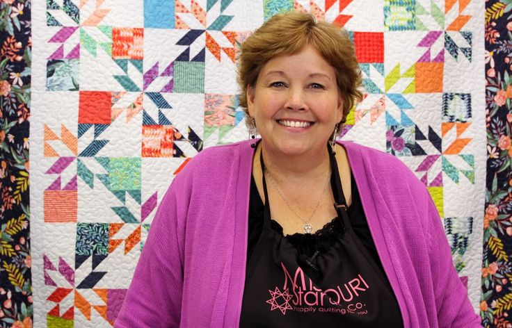 Jenny Doan makes the Hunter's Star Quilt so easy!
