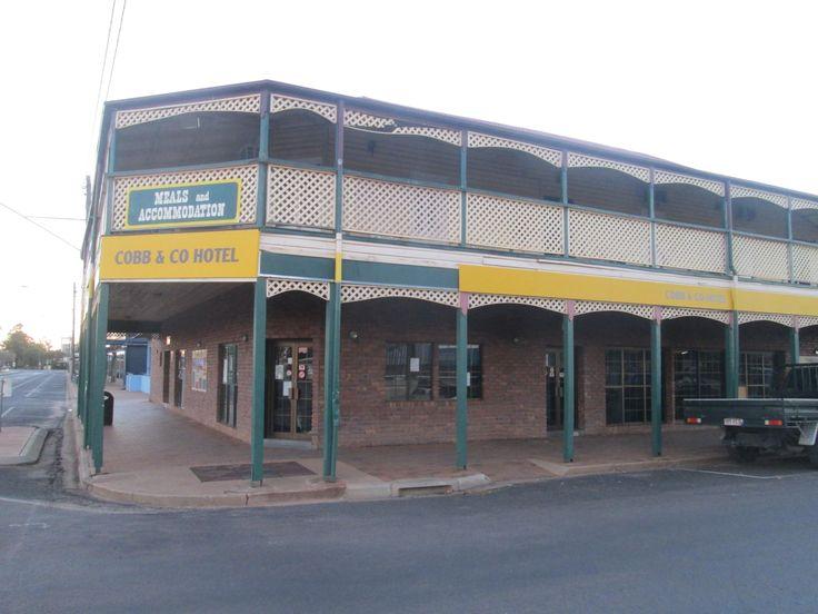 Cobb & Co Hotel, St George, QLD, Australia