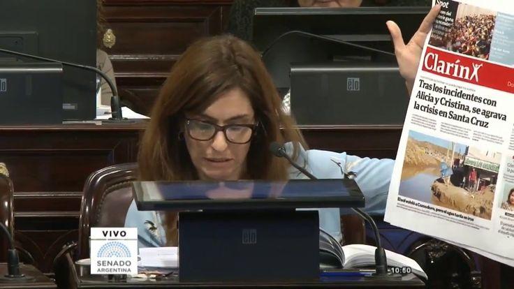 Cuestión de privilegio contra Macri por situación en Santa Cruz