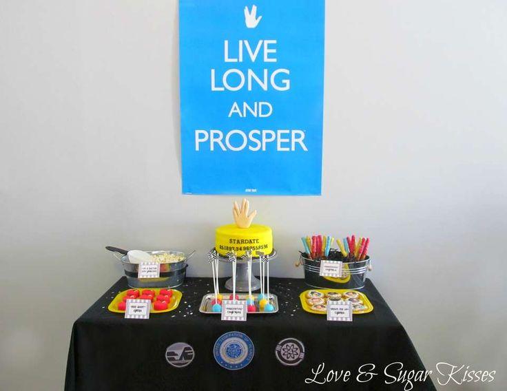Classic Star Trek Party - Live Long & Prosper