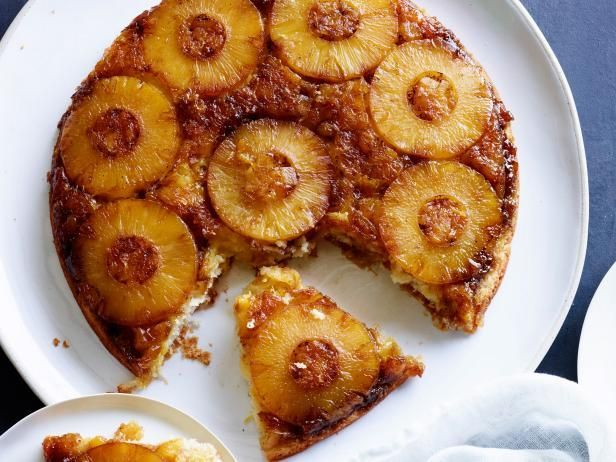 Get Pineapple Upside-Down Cake Recipe from Food Network
