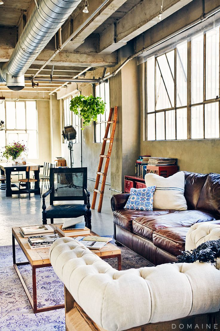 Olivia Lopez, the petite powerhouse behind fashion blog Lust for Life, lives in an enviable downtown LA loft.