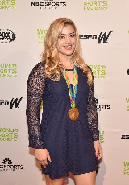 Helen Maroulis Photos - Wrestler and Sportswoman of the Year, Individual Finalist Helen Maroulis attends the 37th Annual Salute To Women In Sports Gala at Cipriani Wall Street on October 19, 2016 in New York City. - 37th Annual Salute to Women in Sports - Arrivals