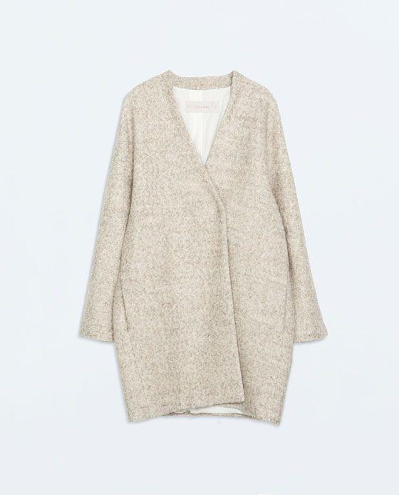 Image 7 of WOOL COAT from Zara