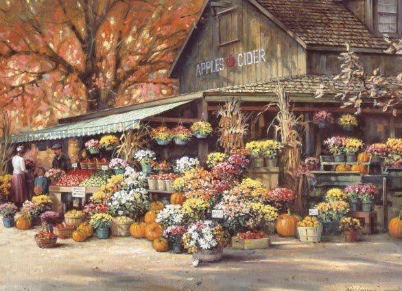 Autumn Flowers home autumn fall inspiration decorate ideas
