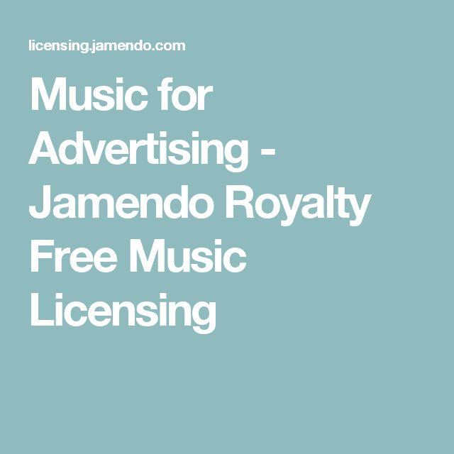 Music for Advertising - Jamendo Royalty Free Music Licensing