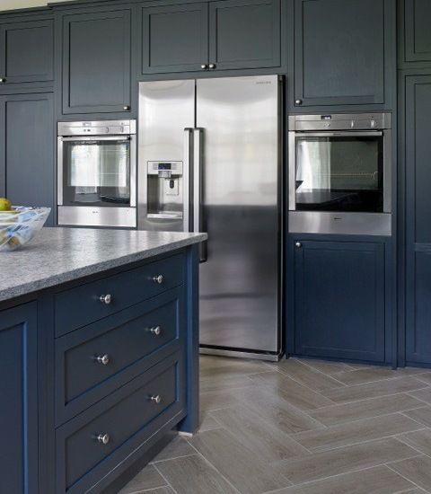 Blue Kitchen London: 15 Best Esher Blue Grey Kitchen Design Images On Pinterest