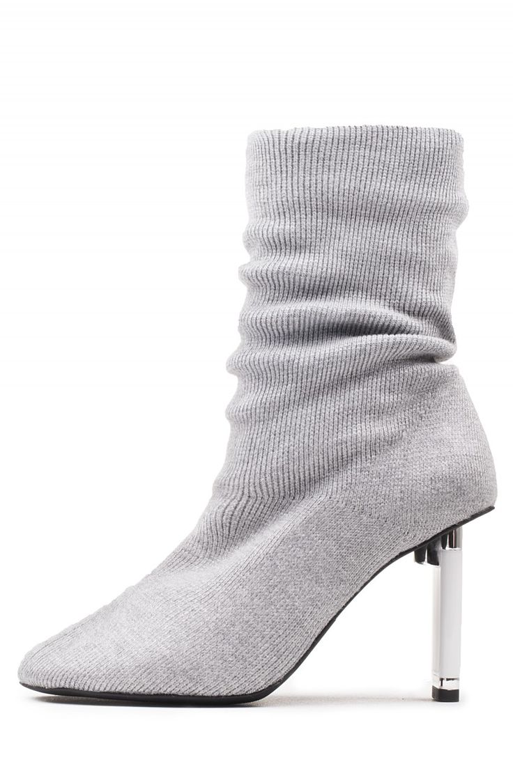 Jeffrey Campbell Shoes PELIGRO in Grey White