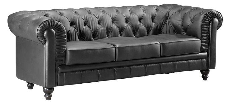 Best 25 Black Leather Sofas Ideas On Pinterest Black
