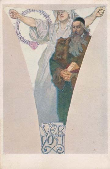 http://www.theviennasecession.com/gallery/alphonse-mucha/postcards/