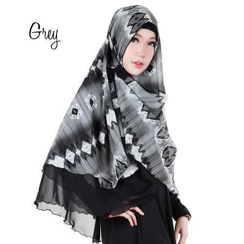 Fatika Overpass Abstract Shawl