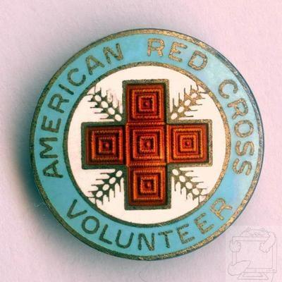 Vintage Red Cross Volunteer Pin LIGHT BLUE 1923-46 CANTEEN   eBay.