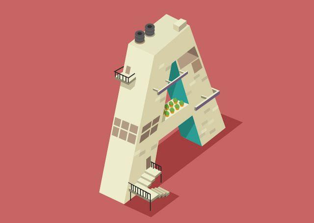 Alphabet City by Ranganath Krishnamani – Fubiz™
