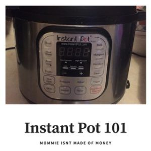 Instant Pot Terminology, Before you start, What to do step by step. functions, easy recipes, accessories, easy meals, menu planning,