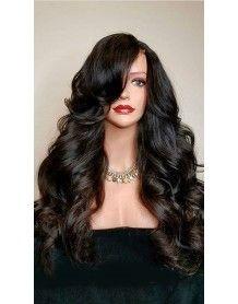 Hannah perruque Lace wig sans colle bouclée