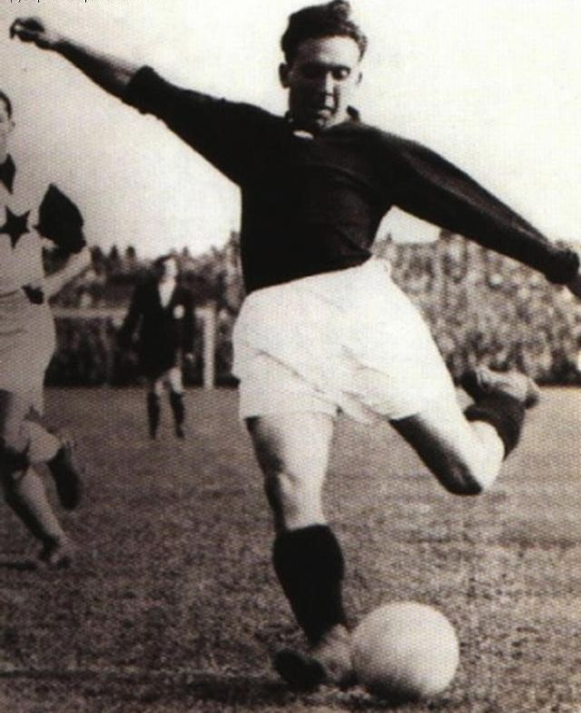 """Raymond """"Ray"""" Ernest Michel Braine (28 April 1907 – 24 December 1978) was a Belgian football striker. He was also the first Belgian professional player, when he obtained a transfer to Sparta Prague in 1930.  Braine played in 54 matches for the Belgium national football team and scored 26 times, making him Belgium's 5th top all-time scorer."""
