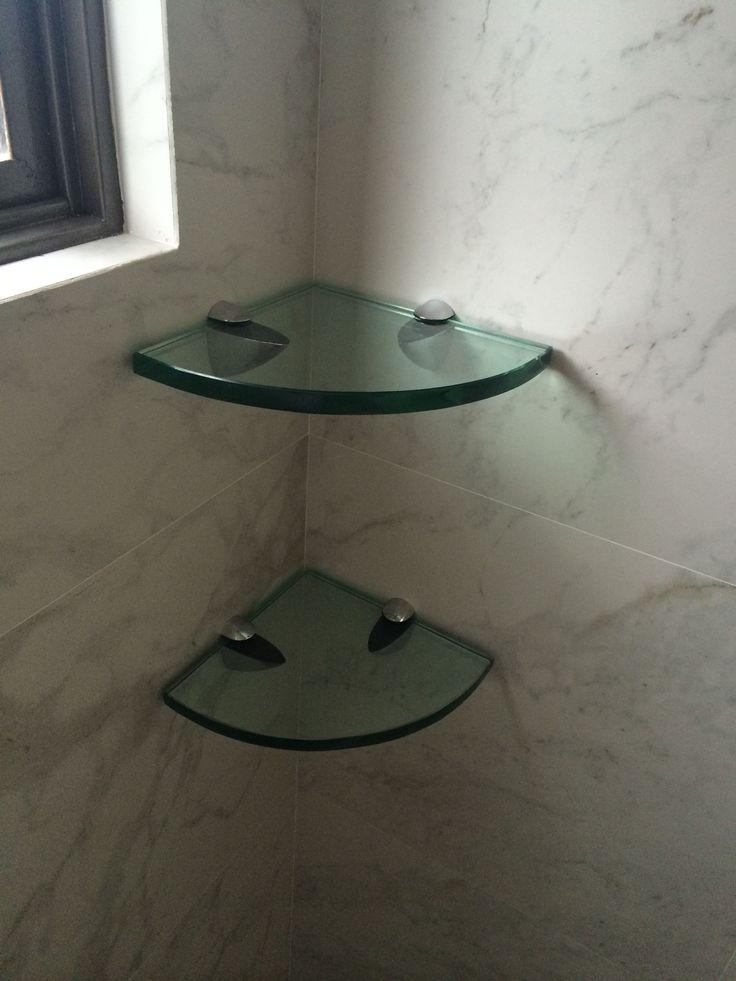 Repisa para baño en 10 y 12 mm #decoracionbañospequeños #mueblesdebaño