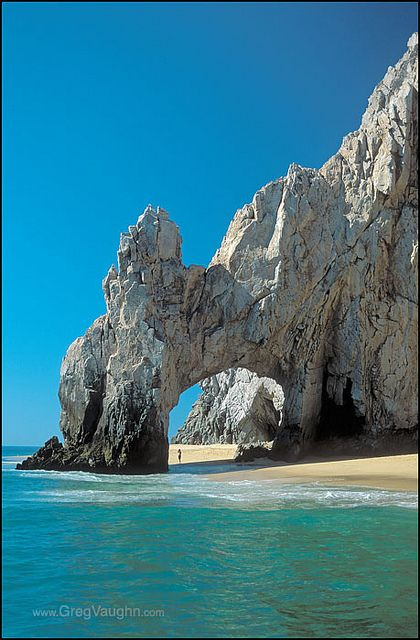 Cabo San Lucas - Mexico! The most amazing ocean I've ever been on! Must take my husband there.