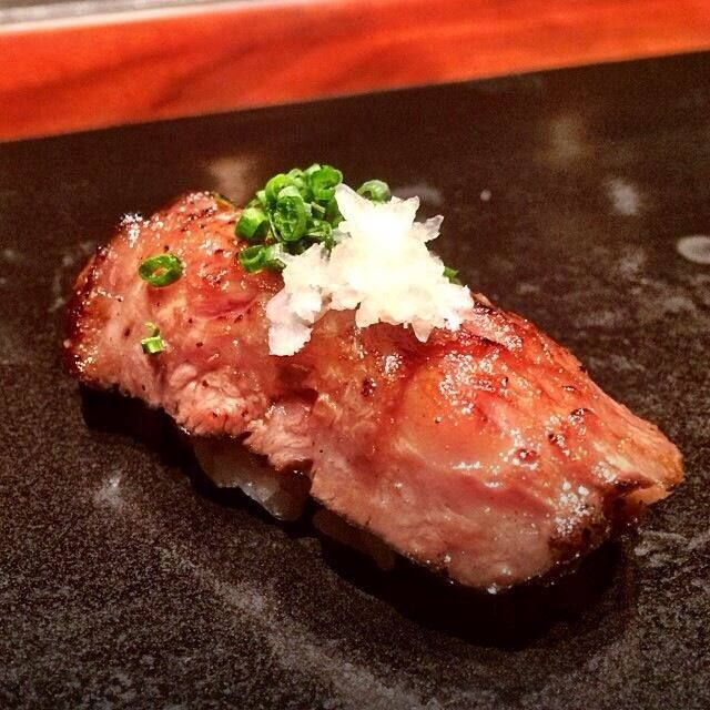 Wagyu Beef Sushi Nigiri   Pinned Sushi   Pinterest