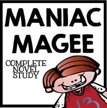 Maniac Magee by Jerry Spinelli: Novel Study with Questions, Projects, and ActivitiesSUBJECT: English, Language Arts, Novel StudyLEVEL: Upper Elementary, Middle SchoolAre you on the hunt for a fully integrated, creative, and comprehensive novel study on Maniac Magee by Jerry Spinelli?This huge package of resources contains everything you need to teach a complete novel study on Maniac Magee.