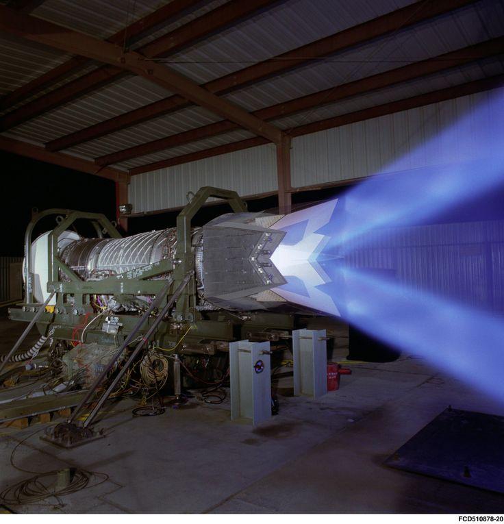 F22 Engine. P&W F119
