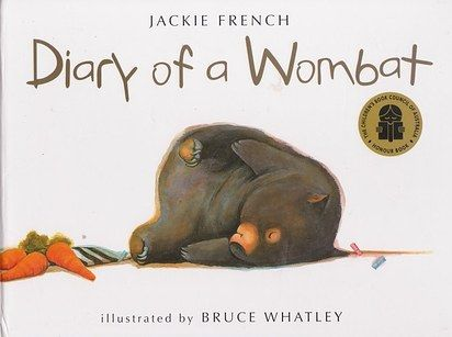 Diary of a Wombat, Jackie French | 29 Children's Books All Australians Grew Up…