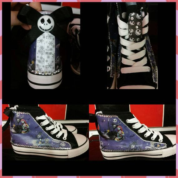 Check out this item in my Etsy shop https://www.etsy.com/uk/listing/262970598/converse-style-the-nightmare-before