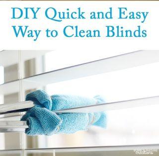 DIY Window Blind Cleaning Tool