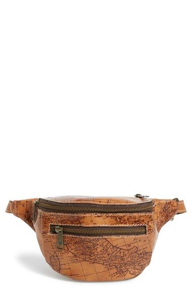 Patricia+Nash+'Signature+Map+Cologne'+Leather+Fanny+Pack+available+at+#Nordstrom