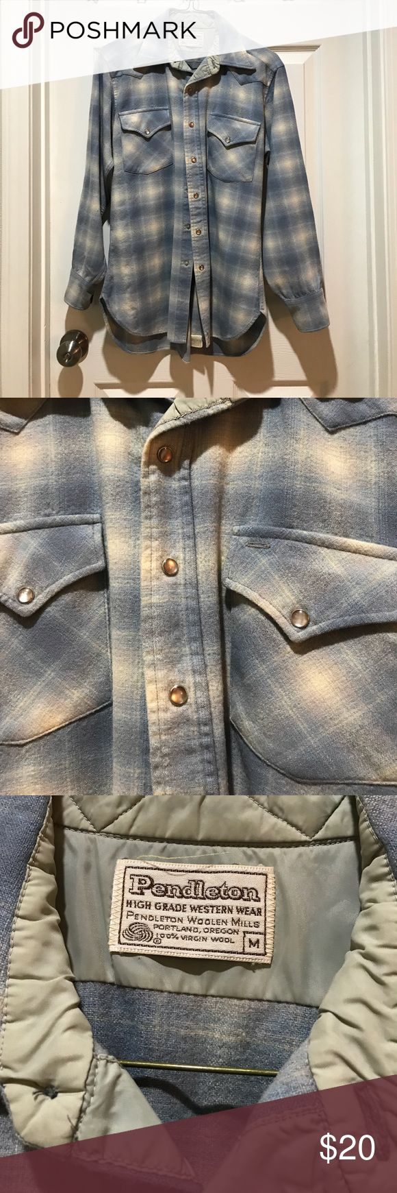 Western Button Down Western Button Down // men's medium but could fit a small, Pendleton brand-- excellent condition Pendleton Shirts