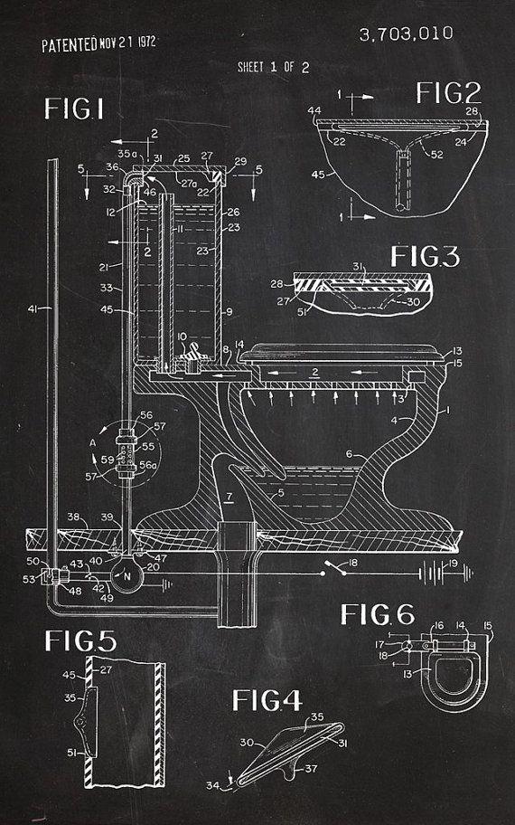 Sheet 1of 2Art Print Chalkboard Poster Patent Design Patent Decoration Patent Art Patent Print