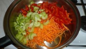 Коричневый рис с миндалем. Шаг 3