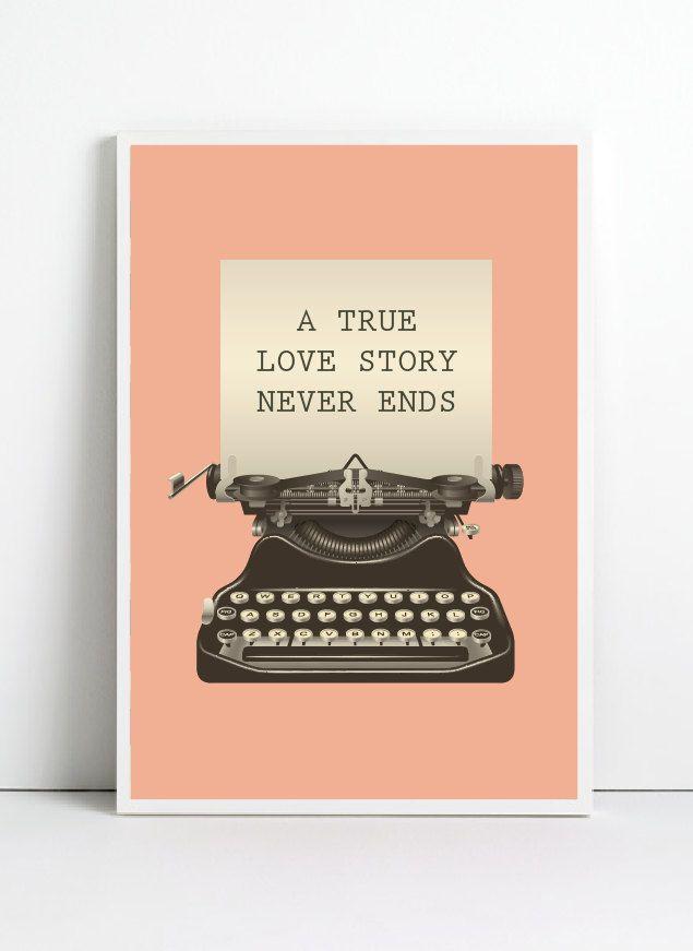 To true love.