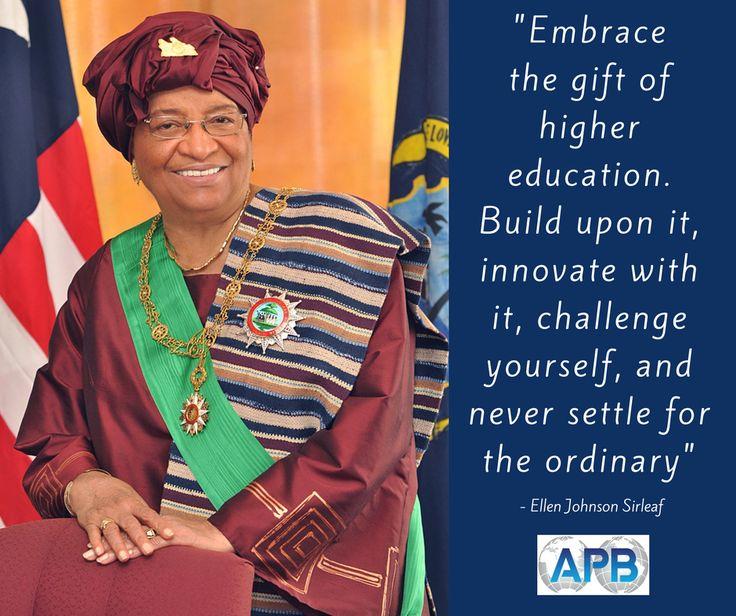 First Female President of Liberia as well as Nobel Peace Laureate, Ellen Johnson Sirleaf shares her strong story to explain the importance of education and entrepreneurship. https://storify.com/apbspeakers/tweetimonials-ellen-johnson-sirleaf-babson2017.html #Babson2017 #Commencement #Liberia #AfricasIronLady #Entrepreneurship
