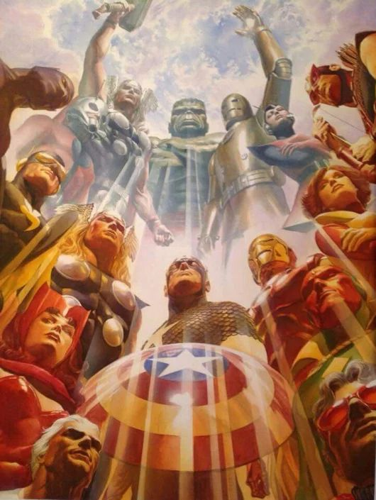 The Avengers Assembled by Alex Ross