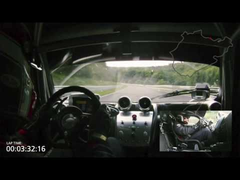 Pagani Zonda R - Nurburgring lap, record time 7:22 amazing drive  **Bowen's favorite so far**