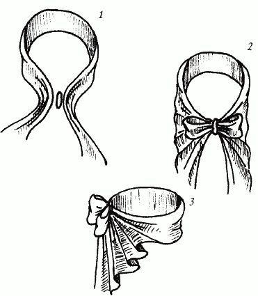 Узел «Бабочка». Узлы для галстука, парео и шарфов.