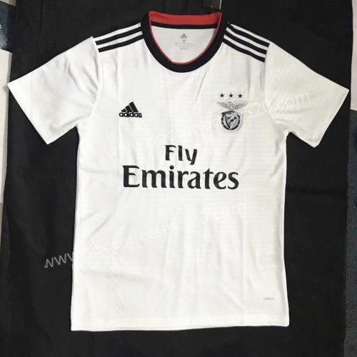 best service 27dc7 3fb58 2018-19 Benfica Away White Thailand Soccer Jersey AAA ...