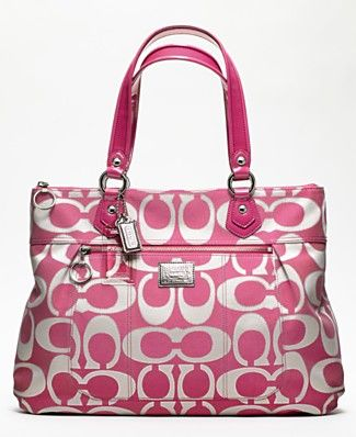 LOVE this Coach purse for sure-perfect color and size More