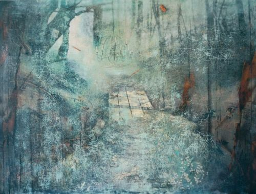 Kunstner: Elisabeth Werp   Teknikk: Maleri, tempera /blandingsteknikk   Størrelse: 122 x 160 cm   5% kunstavgift inkludert i prisen      Klikk på bildet for en større utgave