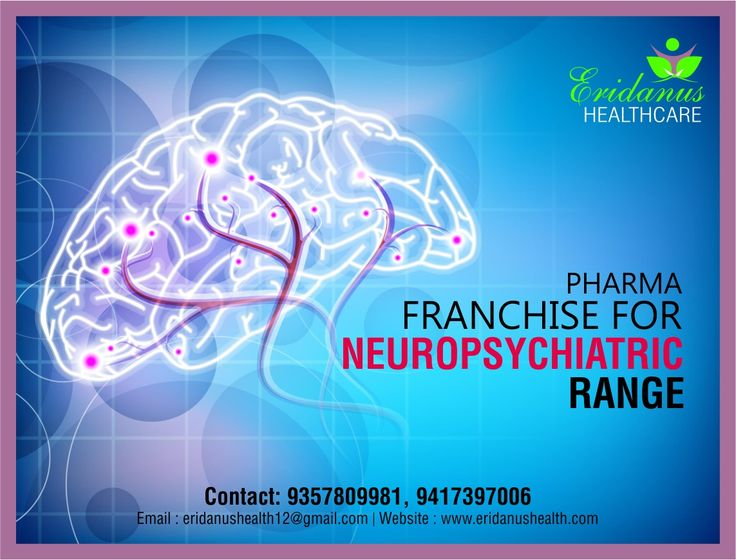 Are you looking for the pharma franchise of Neuropsychiatric Range? No need to look any further. Eridanus Healthcare offers wide array of highly effective and quality range of drugs.  Associate with ISO 9001:2008, WHO and GMP certified pharmaceutical company to start a successful business.  Visit us: http://www.eridanushealth.com/  Address: MCB -Z-5-05560, Street No.10/5, Bala Ram Nagar Pin code: 151001 Contact Us:  9357809981, 9417397006 Email us:  eridanushealth12@gmail.com