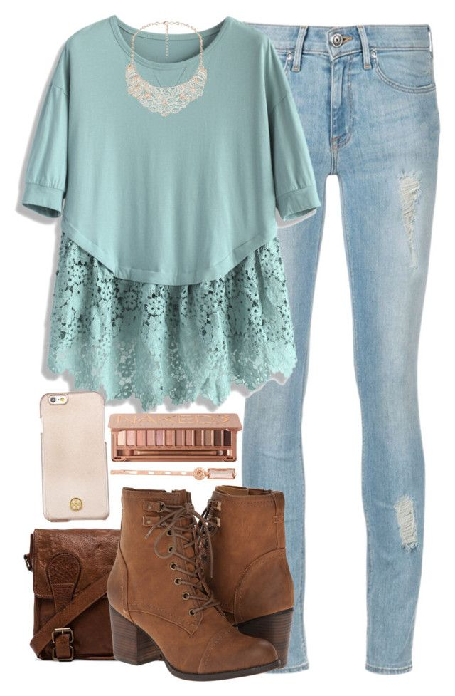 """""""Dainty"""" by red-velvet-n-pearls ❤ liked on Polyvore featuring VIPARO, Chicwish, Madden Girl, Tory Burch, Urban Decay, Henri Bendel, women's clothing, women's fashion, women and female"""