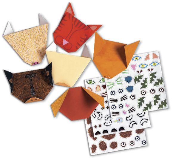Origami állatok Djeco | Pandatanoda