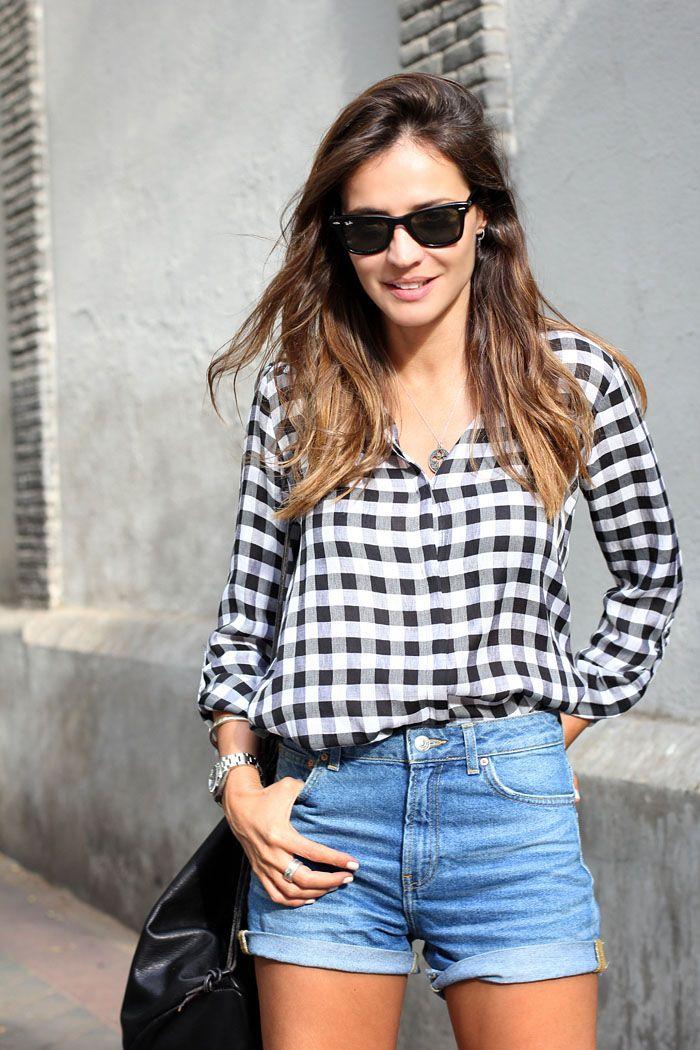 2014 shorts y camisa zara, mochila Rita Rembs,