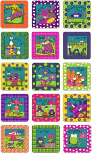 What's Bugging You? by Sue Marsh for RJR Fabrics. Cute bug blocks for a great quilt. Fabric available in my store.